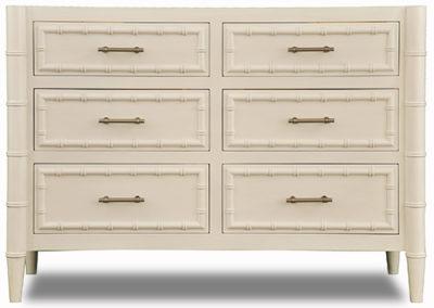 "Custom Bristol Sink Base - 55"" - Sea Pearl w/6 drawers"