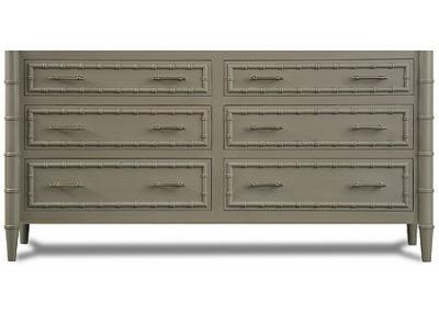 "Custom Double Bristol Sink Base = 86"" - 6 drawers"