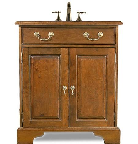 Custom Solid Raised Panel Sink Base