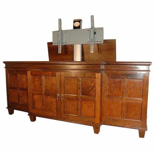 Custom A/V Cabinet