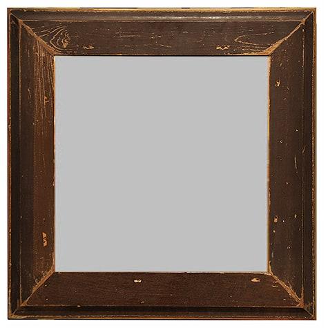 Distressed Mirror Frame